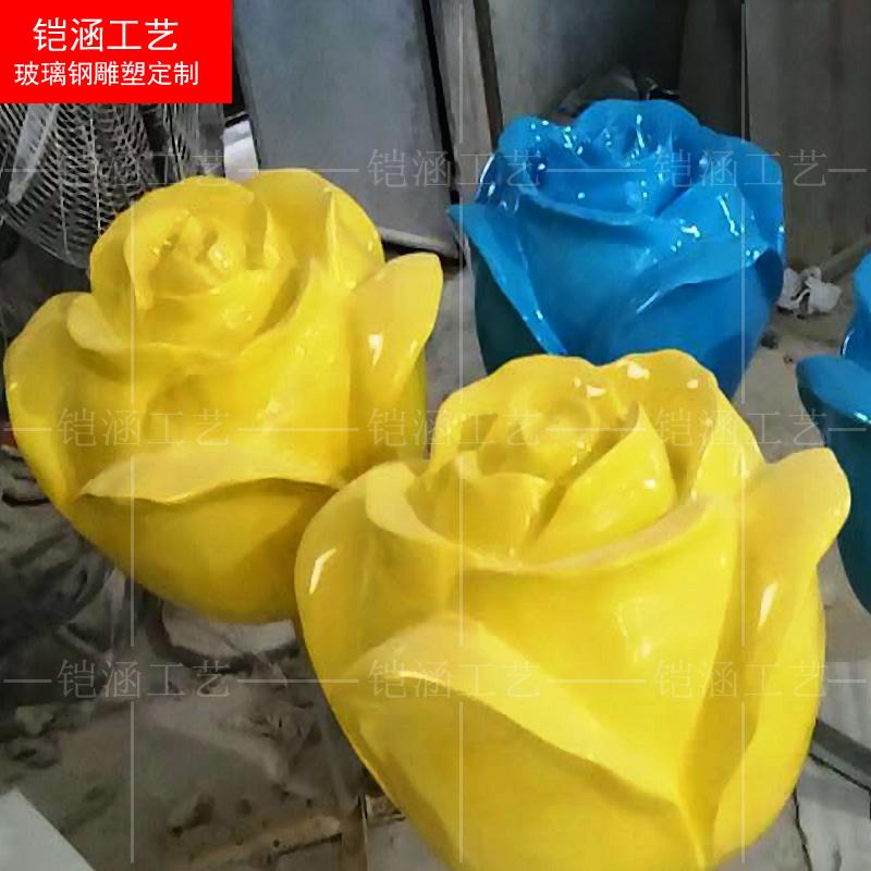 玻璃钢玫瑰花