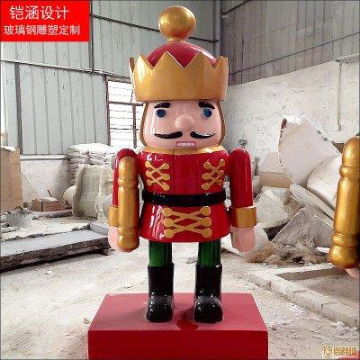 侍卫木偶摆件