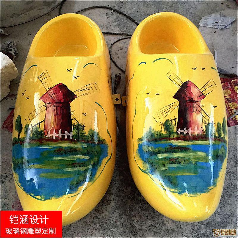 仿真鞋雕塑