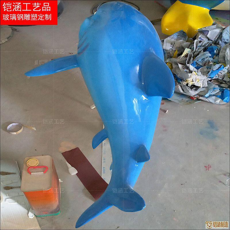 仿真鲨鱼雕塑