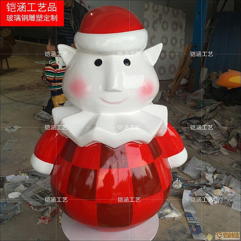 雪人雕塑定制