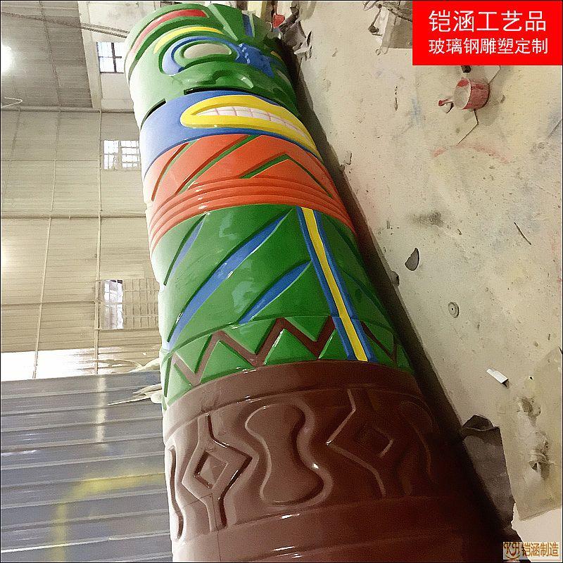 喷水小品——人面喷水柱定制