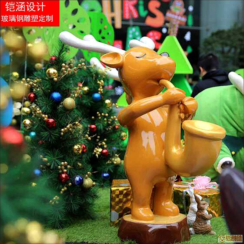 圣诞节经典麋鹿