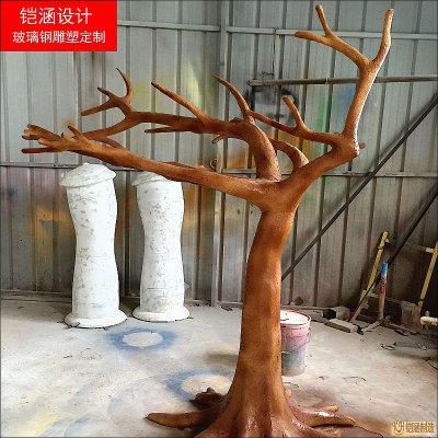 玻璃钢树干雕塑