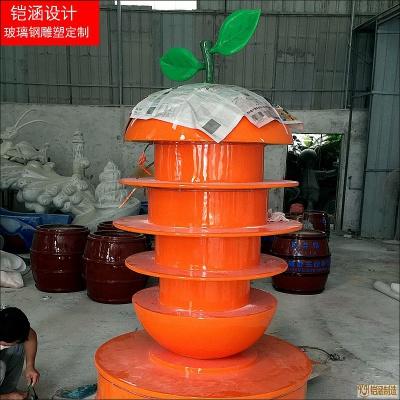 玻璃钢橙子灯塔