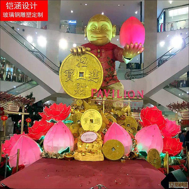 春节商场小品系列雕塑