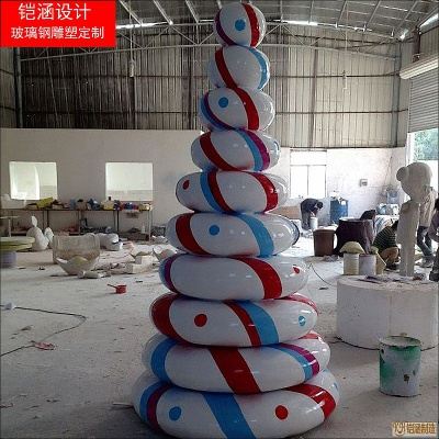 圣诞造型雕塑