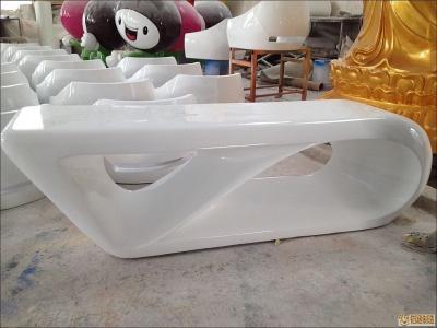 白色桌子 玻璃钢定制