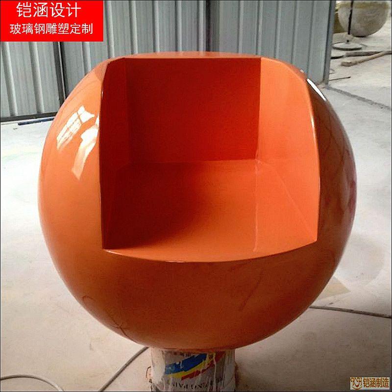 玻璃钢圆凳子定制