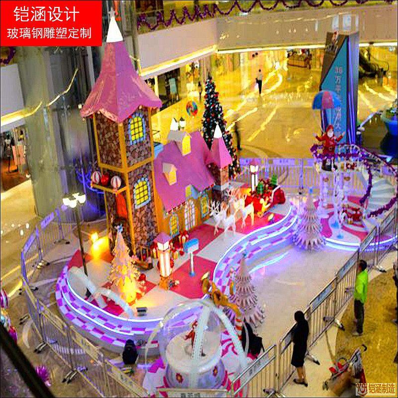 深圳中心城商场圣诞
