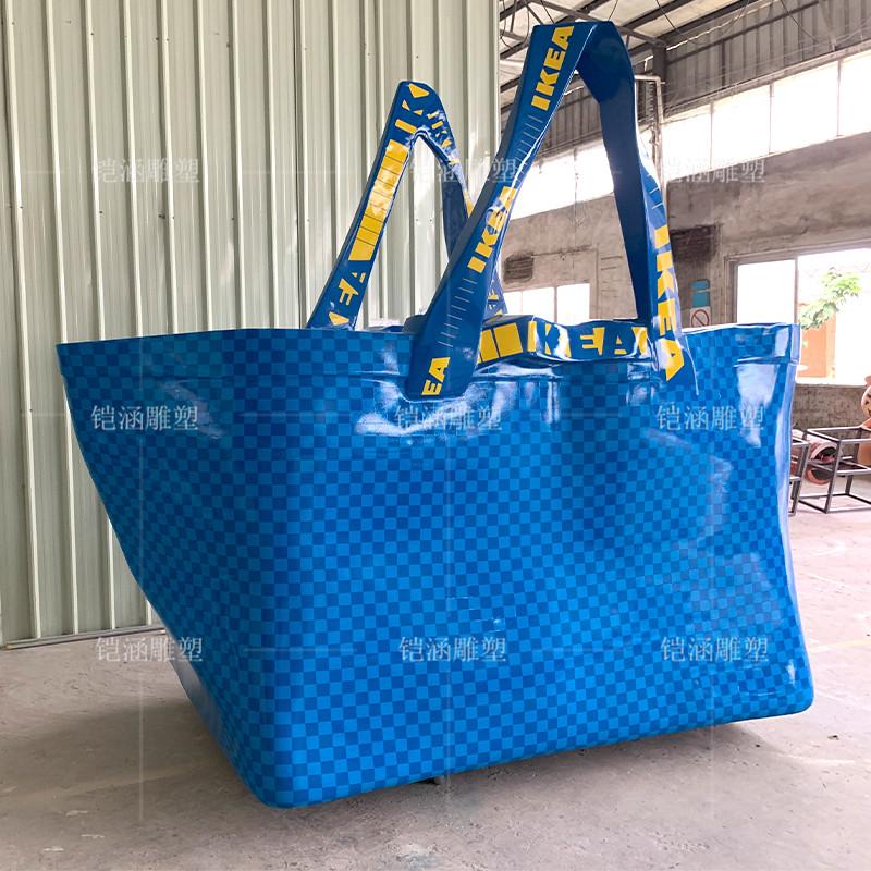 购物袋雕塑定制