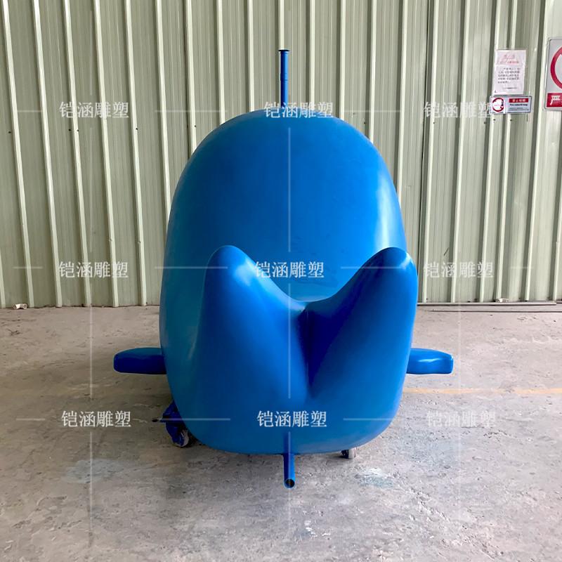 玻璃钢鲸鱼设施定制