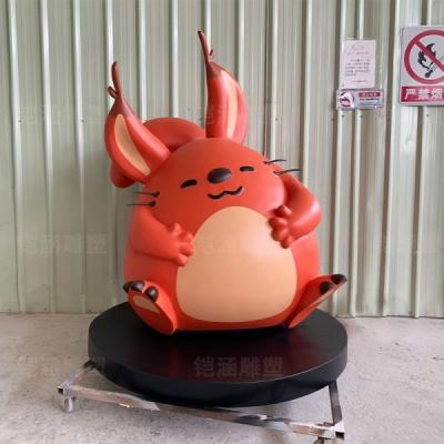 红松鼠 卡通 玻璃钢 雕塑 定制