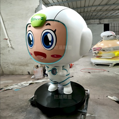 贝贝 吉祥物 卡通 公仔 玻璃钢 雕塑 定制