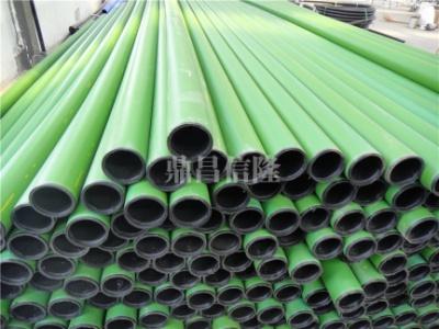 钢丝网骨架聚乙烯复合管--绿色