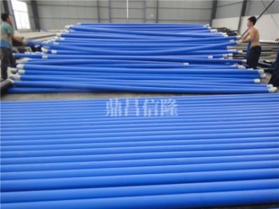 钢丝网骨架聚乙烯复合管--蓝色