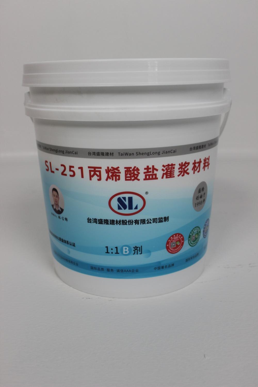 SL-251 丙烯酸盐灌浆材料