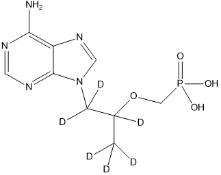 rac-替諾福韋-d6