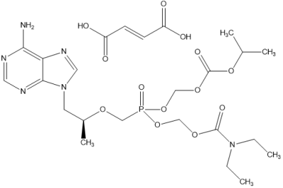 富馬酸二乙氨基羧甲基-POC替諾福韋