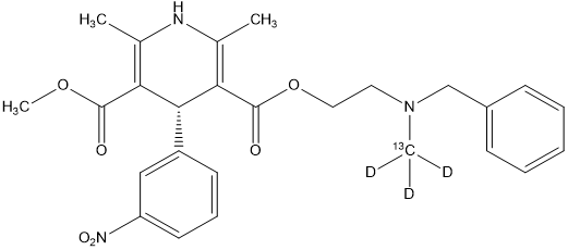 (R)-(+)-尼卡地平雜質-13C-d3