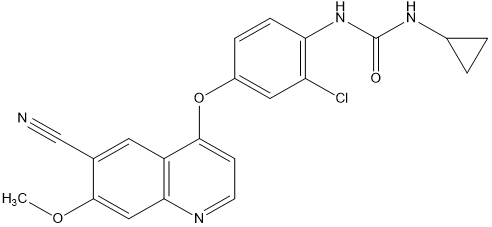 6-氰基樂伐替尼