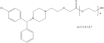 (R)-西替利嗪聚乙二醇酯