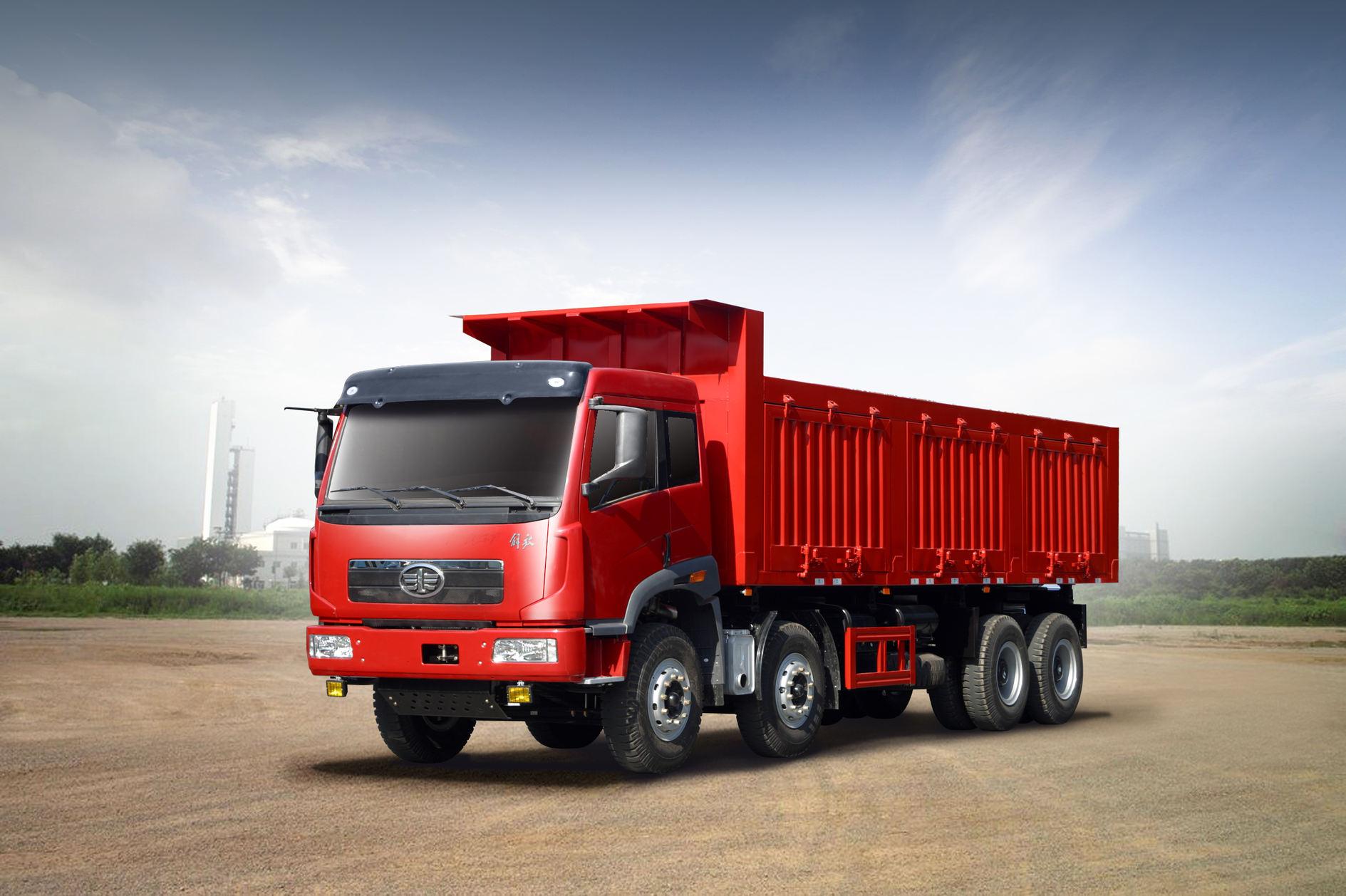 FAW J5P 8x4 Dumper (GCC)