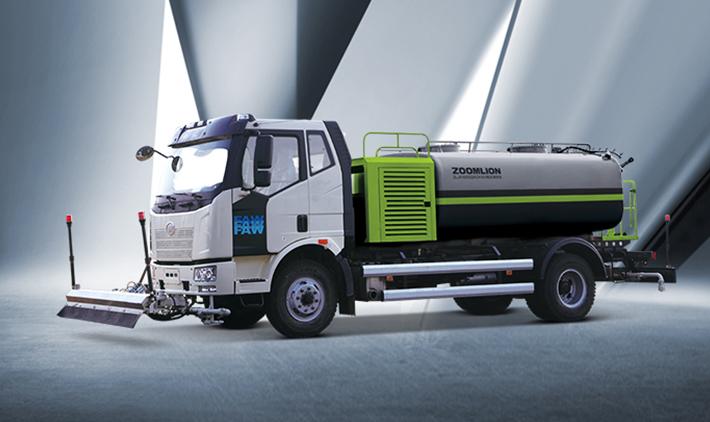 J6L 4X2 Sweeper truck