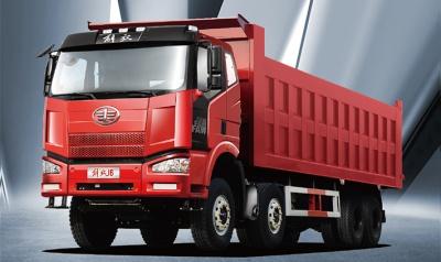 J6M 8X4 公路轻量化 自卸车
