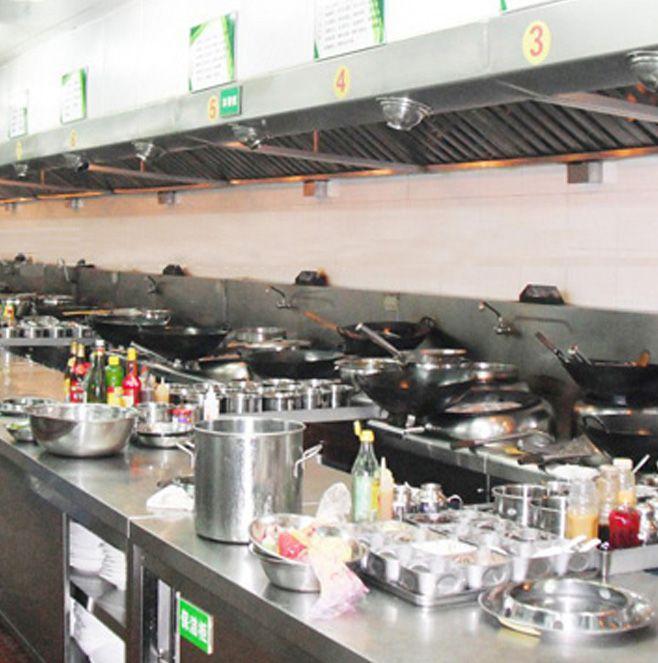 成都香四海中餐厅厨房设备项目