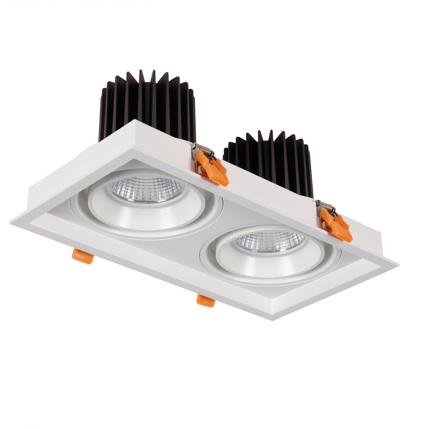 Dual Grille COB Downlight