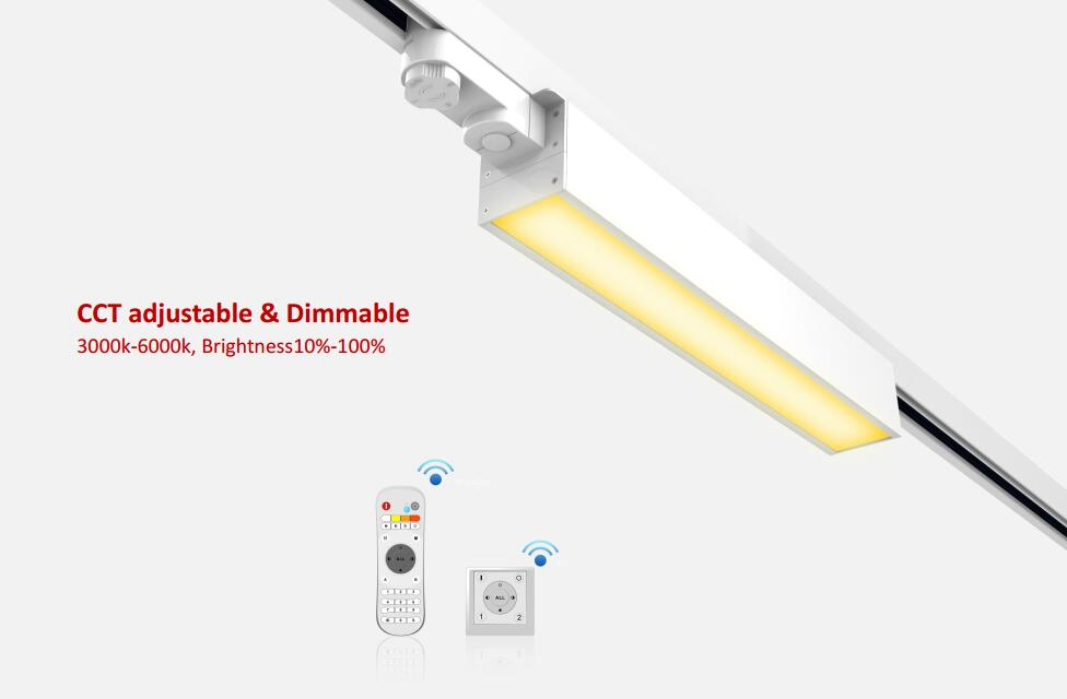 Rotatable Linear Track Light
