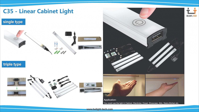 Linear Cabinet Light-C35·F35