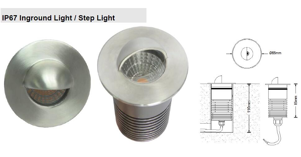 IP67 Inground Light (Step Light)