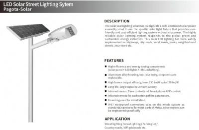 Intelligent Solar Street Light