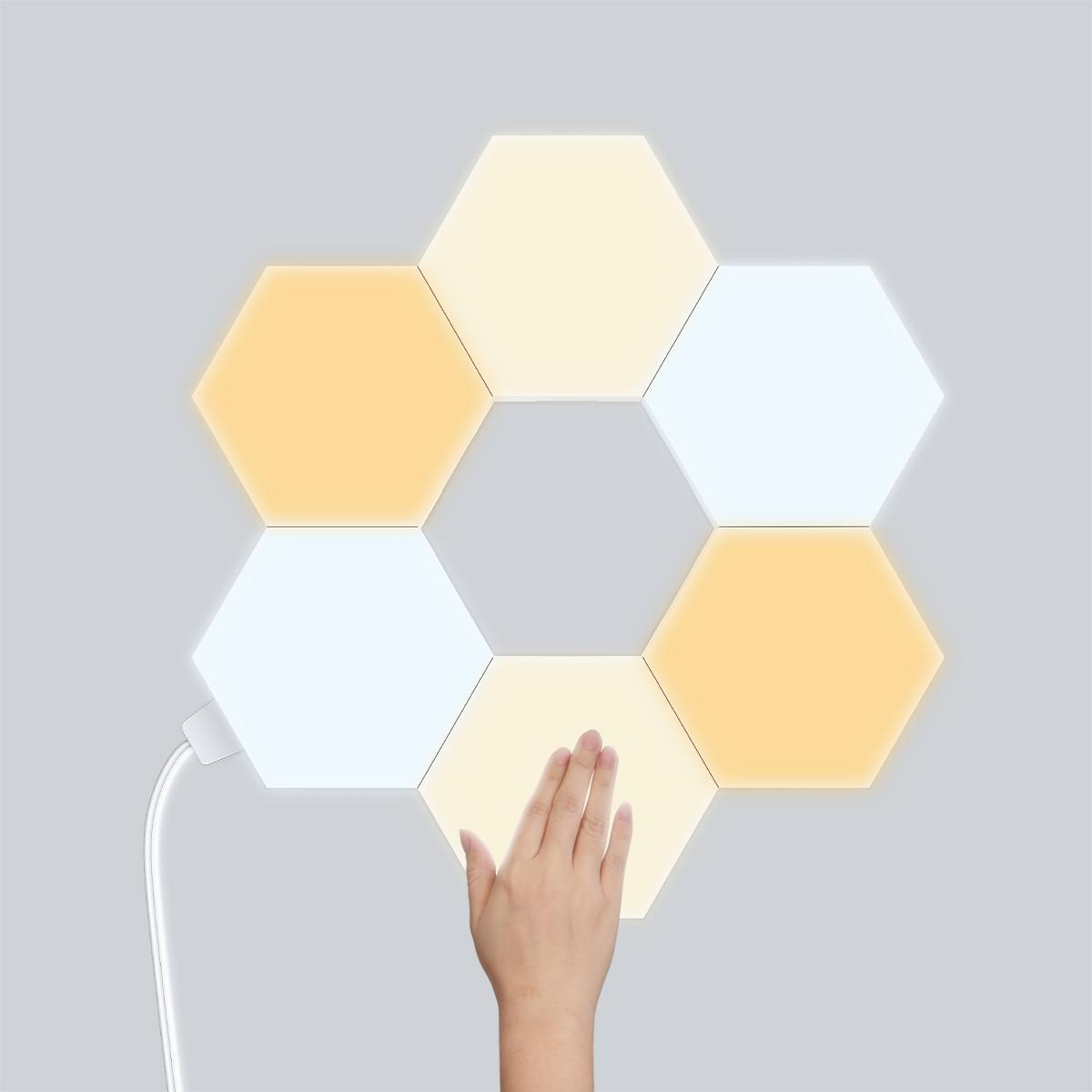 DIY Honeycomb Lamp