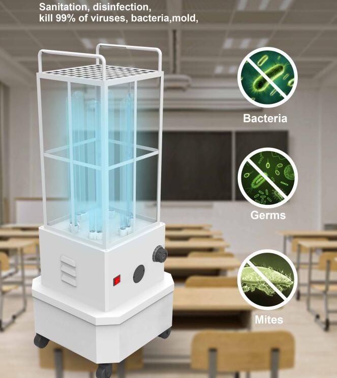 UVC Mobile Disinfection Light (254nm)