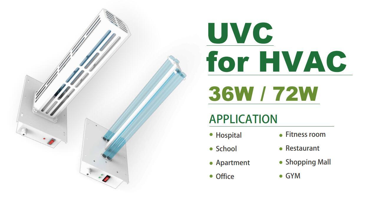 UVC Light for HVAC (254nm)