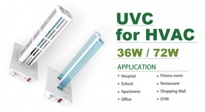 UVC Light for HVAC (254nm)