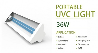 Portable UVC Sterilization Light (254nm)