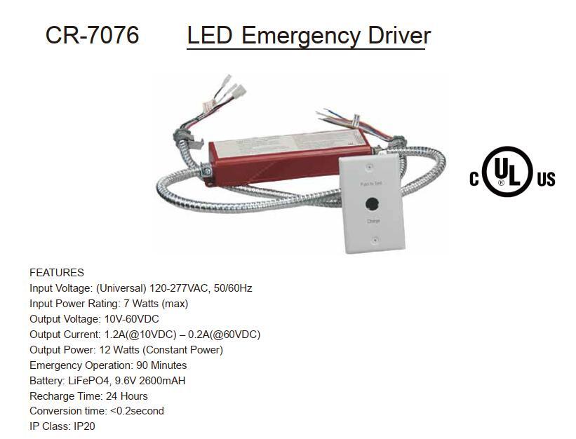Emergency Light · Driver