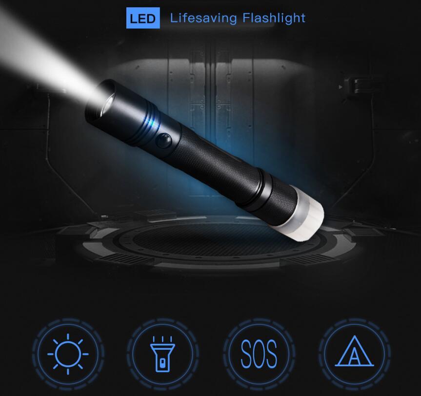 IP65 Lifesaving Flashlight
