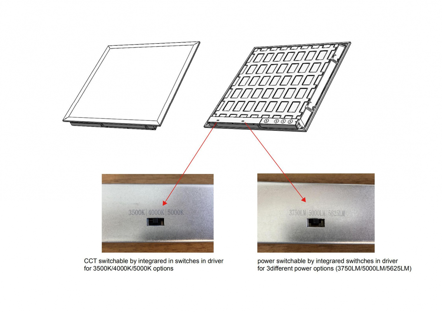 DLC V5.1 premium Backlit Panel Light