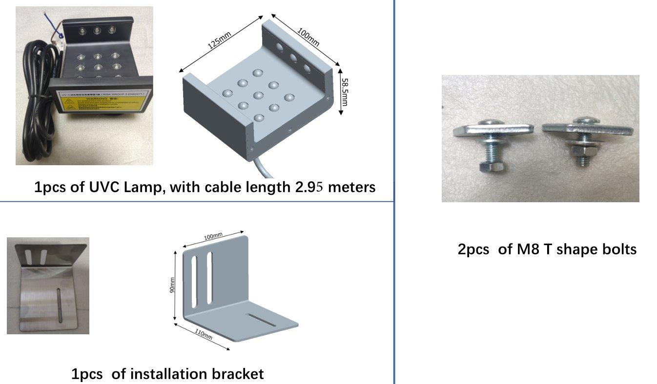 UVC Elevator Sterilization Lamp
