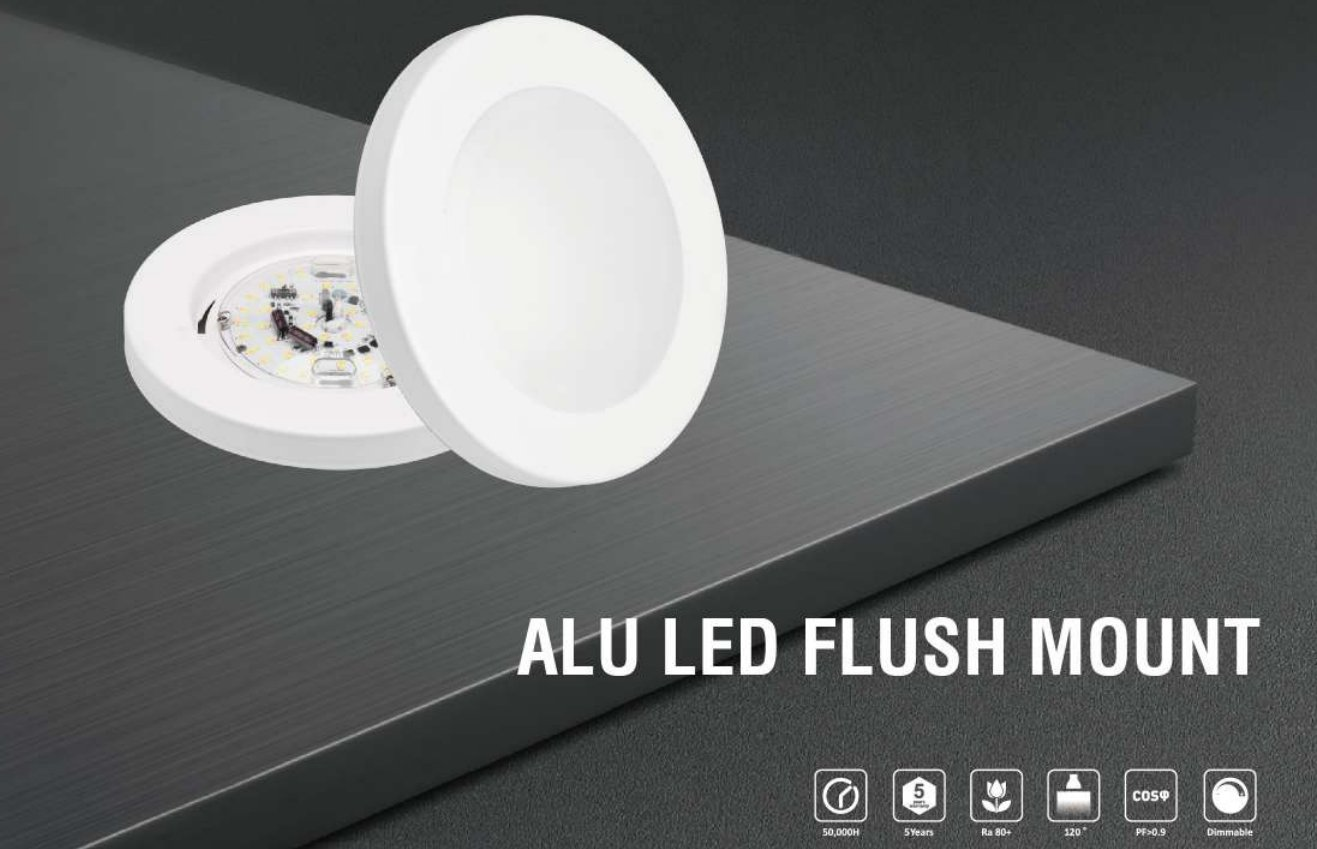Round·Ceiling·Flush·Slim Downlight