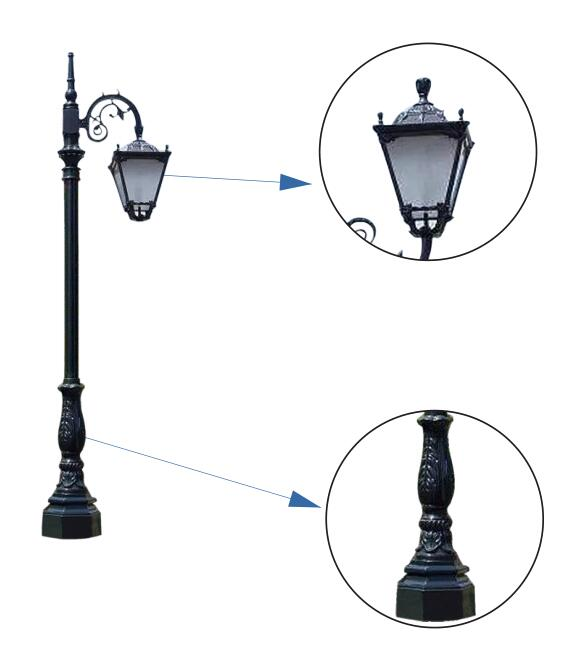 Garden Light (Post Top)