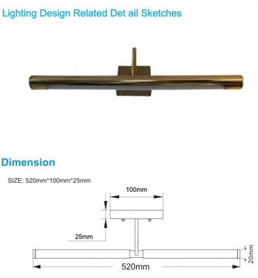 Mirror Lamp for typical project