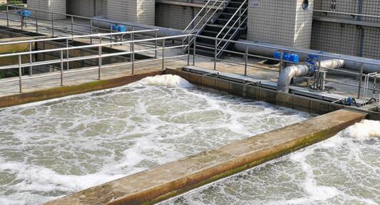 反硝化滤池在高标准排放污水处理厂...