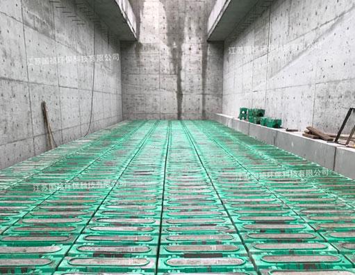 反硝化深床滤池集生物脱氮及过滤功...