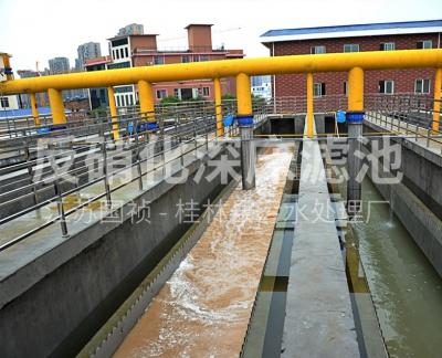 反硝化深床滤池T型滤砖(广西桂林污水处理厂)